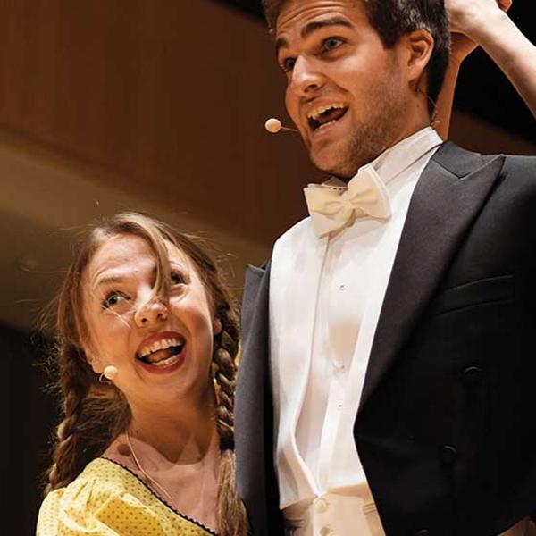 Unge synger opera