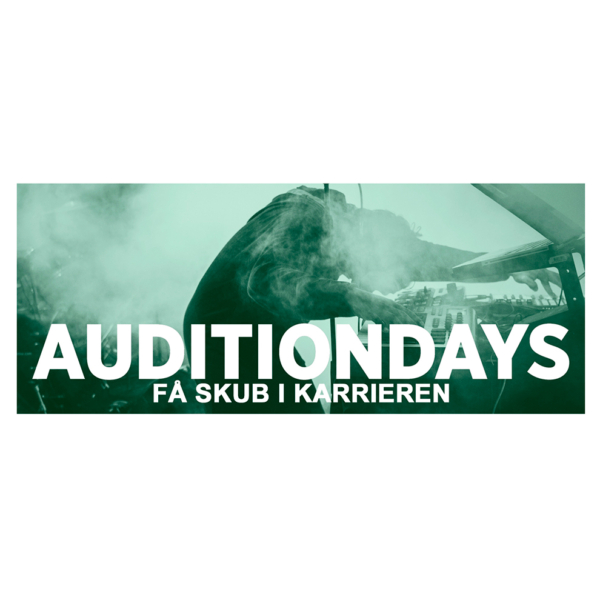AUDITIONDAYS EFTERÅR 2017