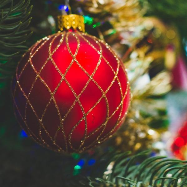 Værkets juletræ tændes