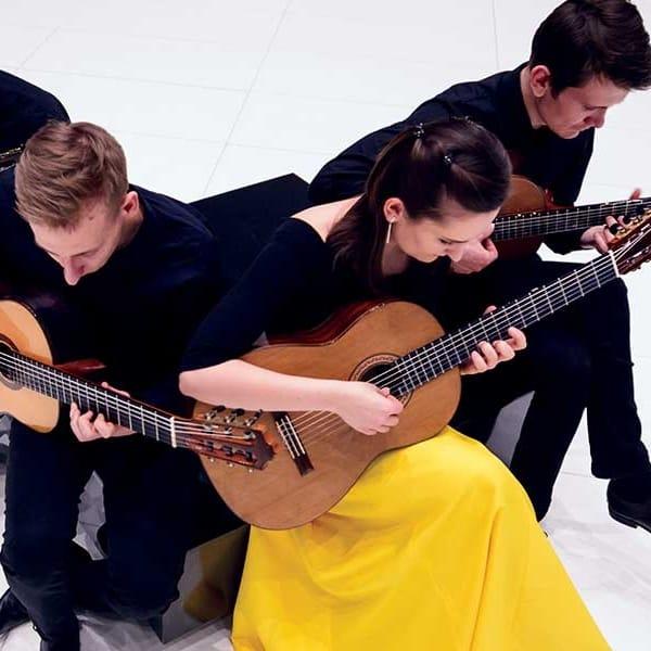 Prisvindende polsk guitarkvartet