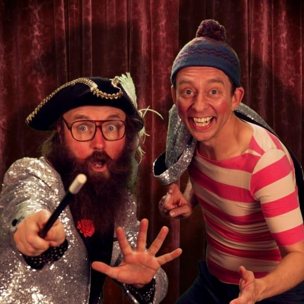 Onkel Reje og Brilles Mega Store Magiske Trylleshow